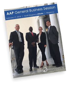 General Business Session Brochure